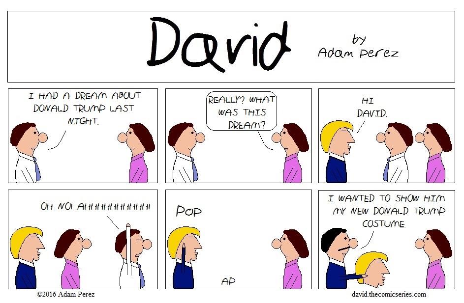 David meets Donald Trump part 3