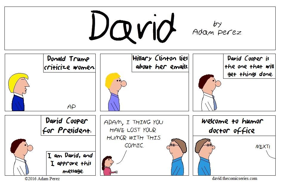 David Cooper for President