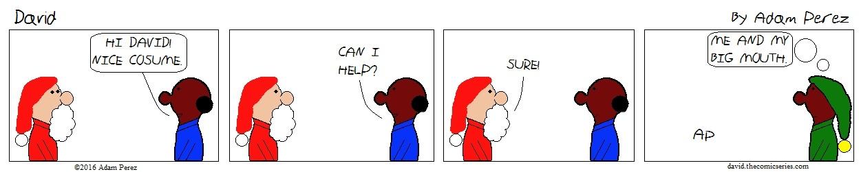 David is Santa part 2