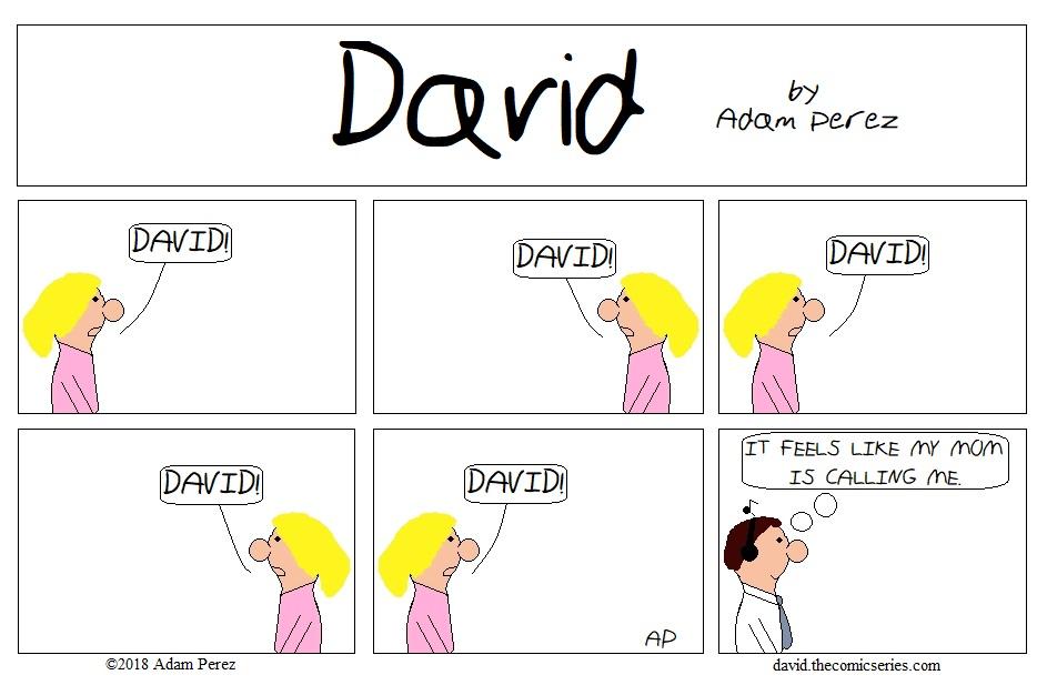 Calling David