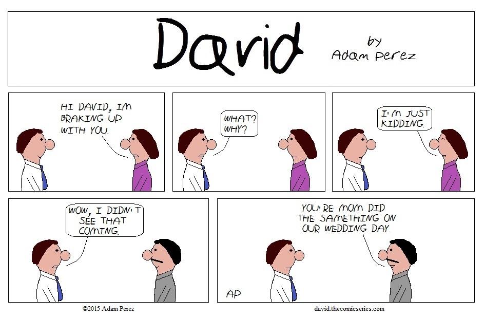 David's bad Joke