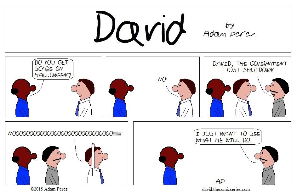 David get scare
