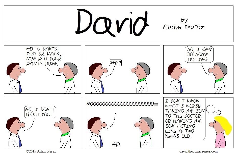 David at the doctors part 1