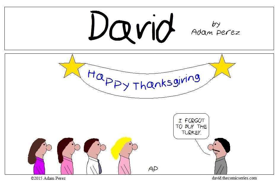 David's Thanksgiving